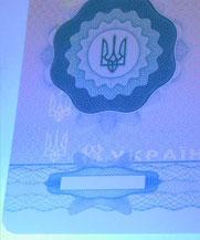 Диплом - свечение УФ (Бахмут (Артемовск))
