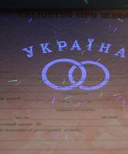 Диплом - микро ворс в УФ (Бахмут (Артемовск))